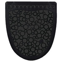 Fresh Products PSUM-F-00 P-Shield Urinal Mat Case, Black on Black