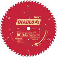 CIRC SAW BLADE 10IN 60T FINISH