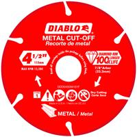 DISC METAL CUTTING DIAM 4.5IN