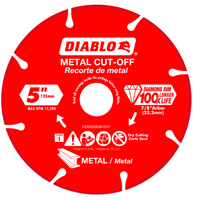 DISC METAL CUTTING DIAMOND 5IN