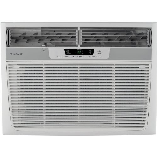 18000 BTU Window Air Conditioner/Heater, Electronic Controls, 230V
