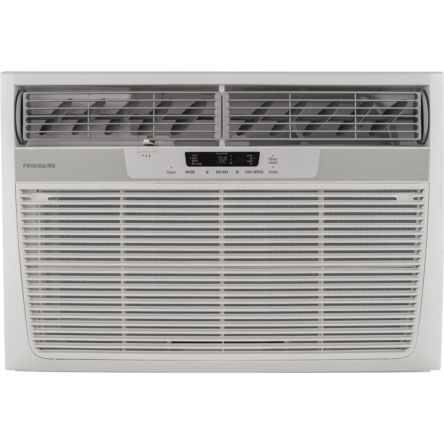 25000 BTU Heat/Cool Window Air Conditioner, Electronic Controls, 230V