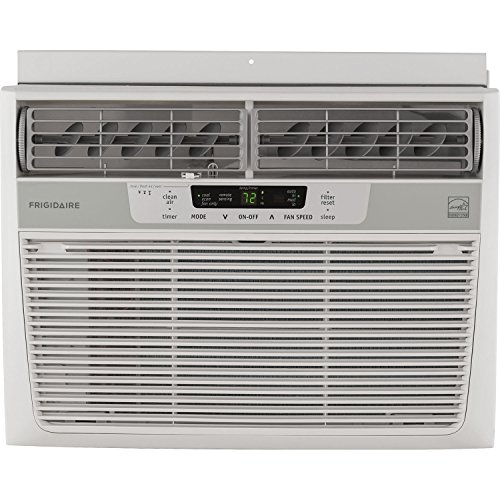Window-Mounted Compact Air Conditioner With Remote Control, 12,000 BTU, 115V, 2016 Energy Star