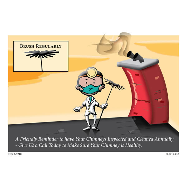 Dentist Appointment Postcard, Pack Of 250