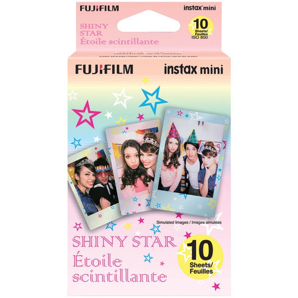 Fujifilm 16404193 Instax Mini Film Pack (Shiny Star)