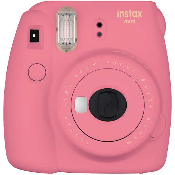 Fujifilm 16550631 Instax Mini 9 Instant Camera (Flamingo Pink)