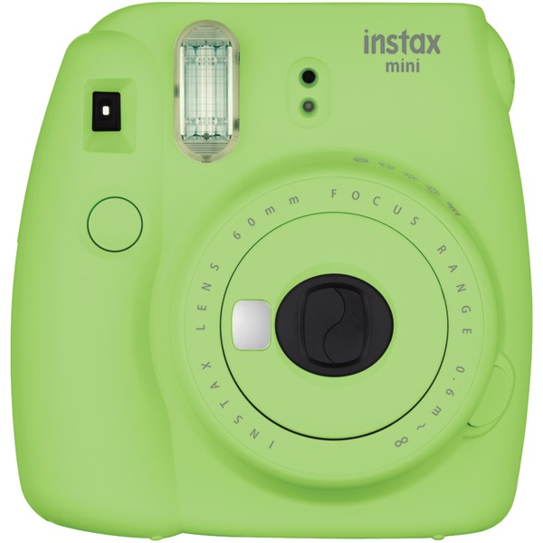 Fujifilm 16550655 Instax Mini 9 Instant Camera (Lime Green)