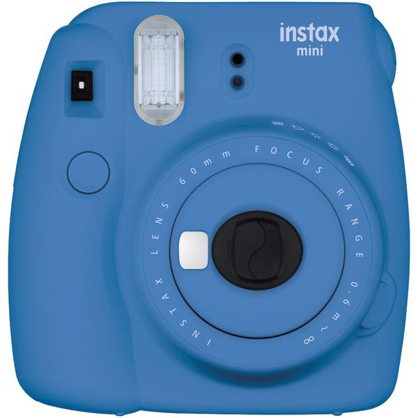 Fujifilm 16550667 Instax Mini 9 Instant Camera (Cobalt Blue)