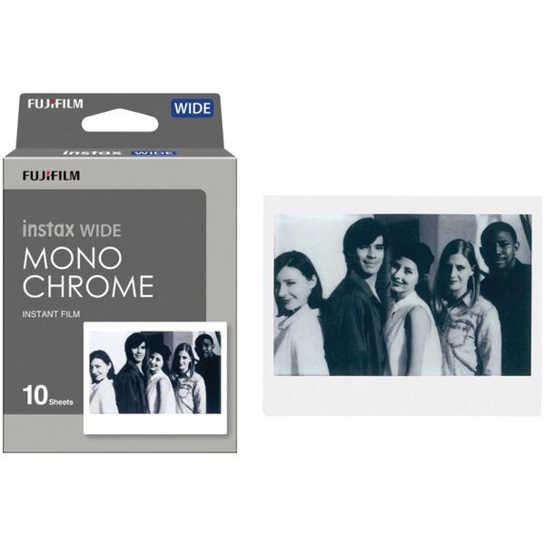 Fujifilm 16564101 instax WIDE Monochrome Film, 10 pk