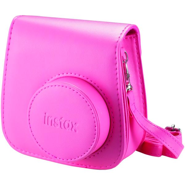 Fujifilm 600018145 Instax Mini 9 Groovy Case (Flamingo Pink)