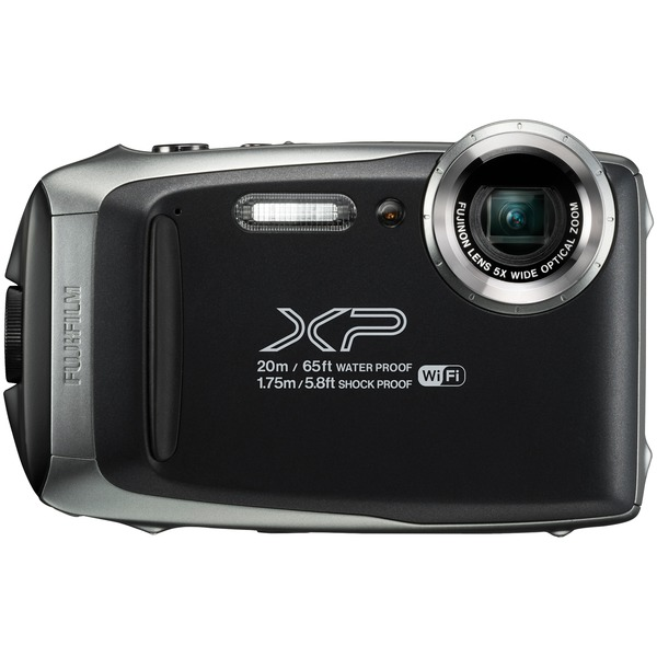 Fujifilm 600019824 16.4-Megapixel FinePix XP130 Digital Camera (Dark Silver)
