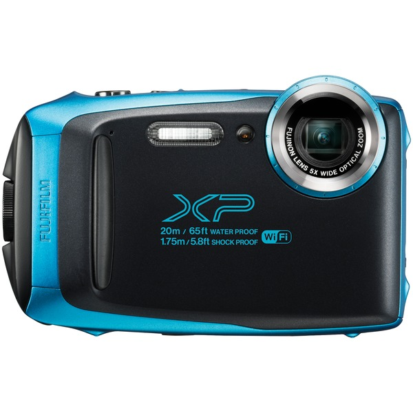 Fujifilm 600019826 16.4-Megapixel FinePix XP130 Digital Camera (Sky Blue)