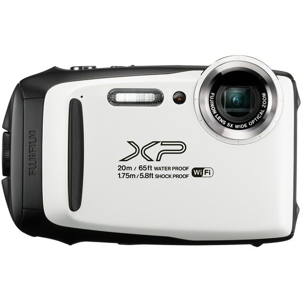 Fujifilm 600019827 16.4-Megapixel FinePix XP130 Digital Camera (White)