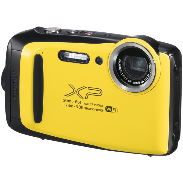 Fujifilm 600019828 16.4-Megapixel FinePix XP130 Digital Camera (Yellow)
