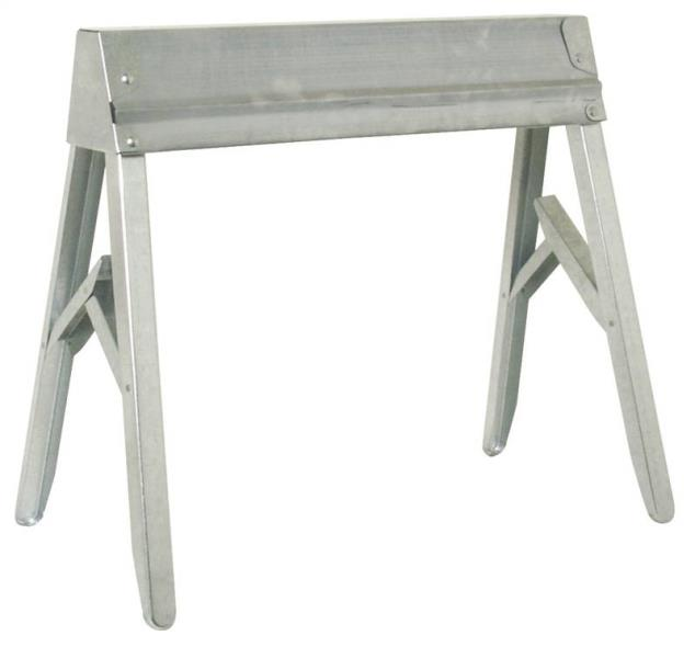 Fulton TS-11 Portable Lightweight Folding Sawhorse, 1000 lb, 29-1/4 in H X 32-1/2 in W, Steel