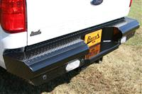 Rear Ranch Bumper in Black Powder Coat