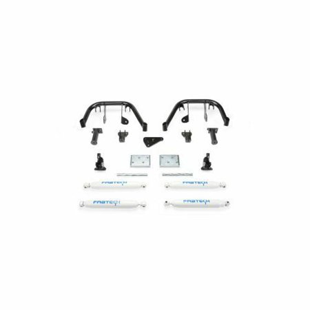 (KIT) 6IN MULTIPLE FRT SHK SYS W/ PERF SHKS 08-10 FORD F250/350 4WD