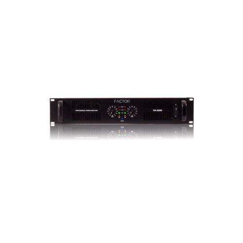 Factor 1500 Watt Pro Audio Amplifier