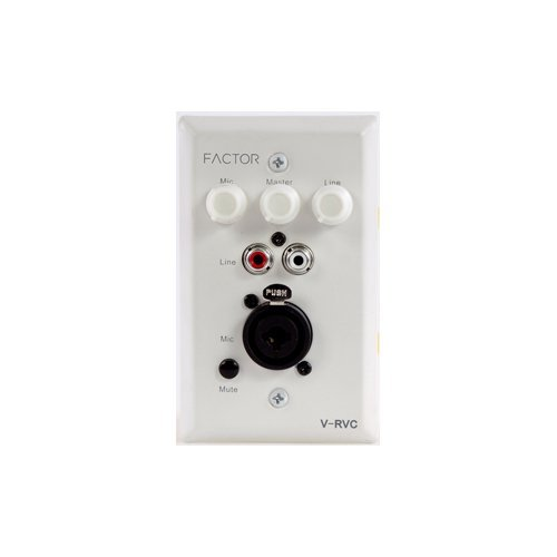 Factor In-Wall Mic-Line Pre-Amp with Volume Control