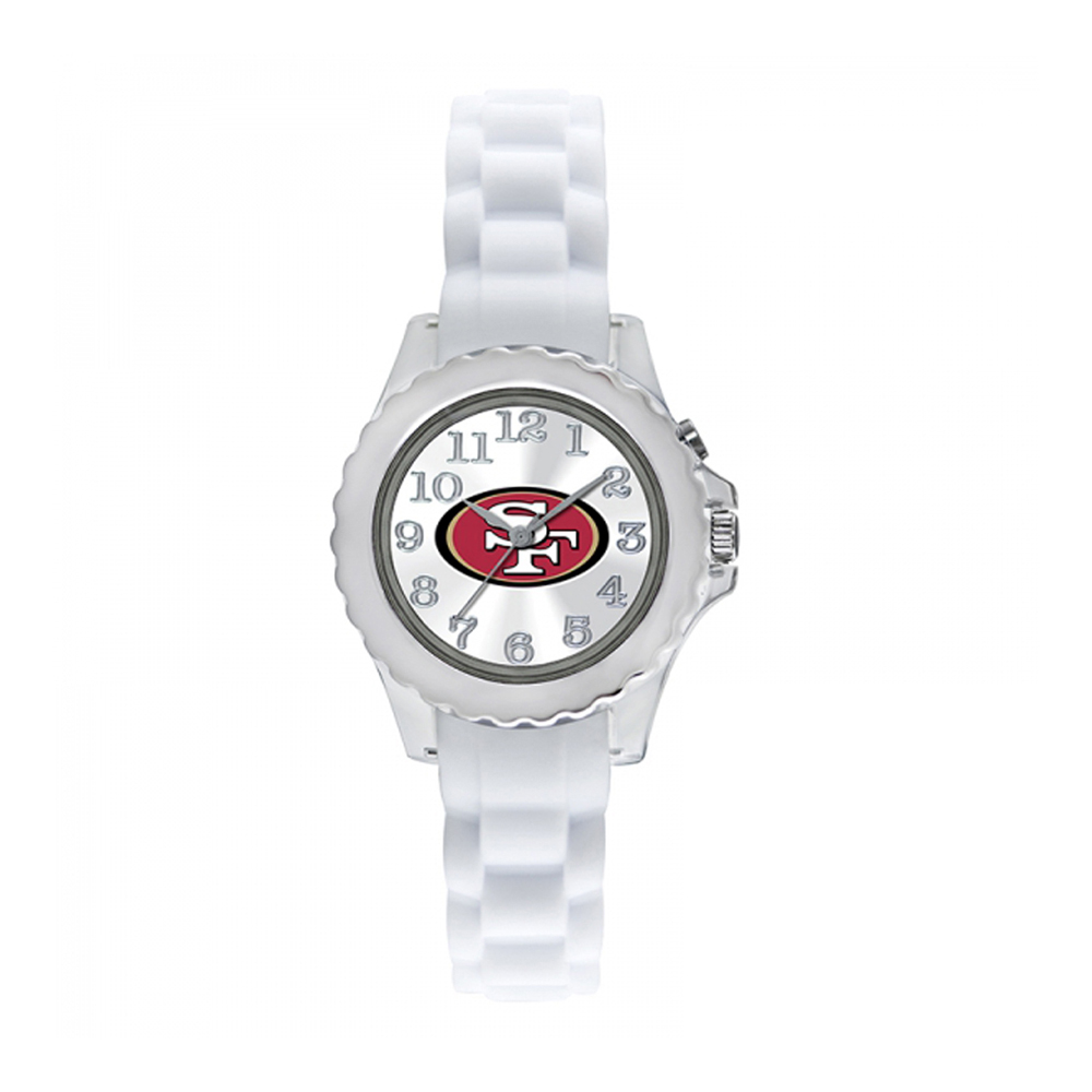 San Francisco 49ers Youth Watch NFL Football Flash White