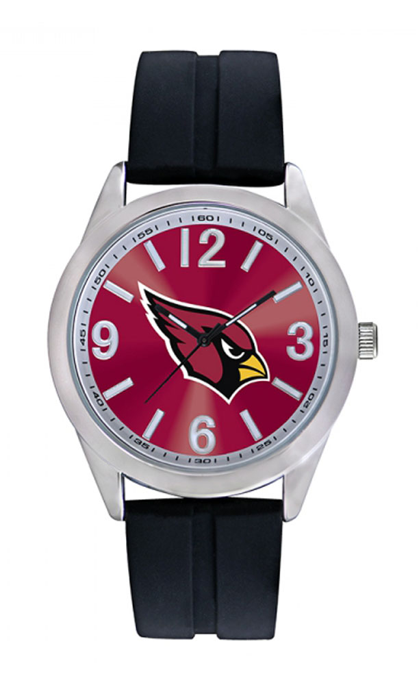 Arizona Cardinals Mens Watch NFL Football Wristwatch Varsity