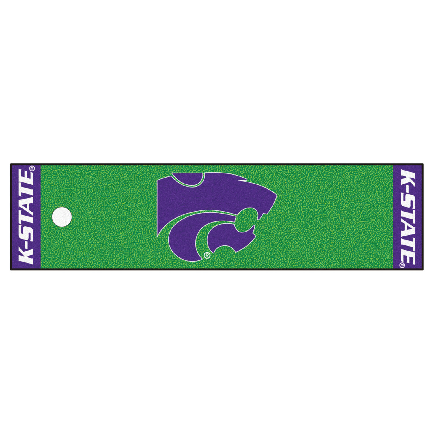 Fanmats Kansas State Putting Green Runner