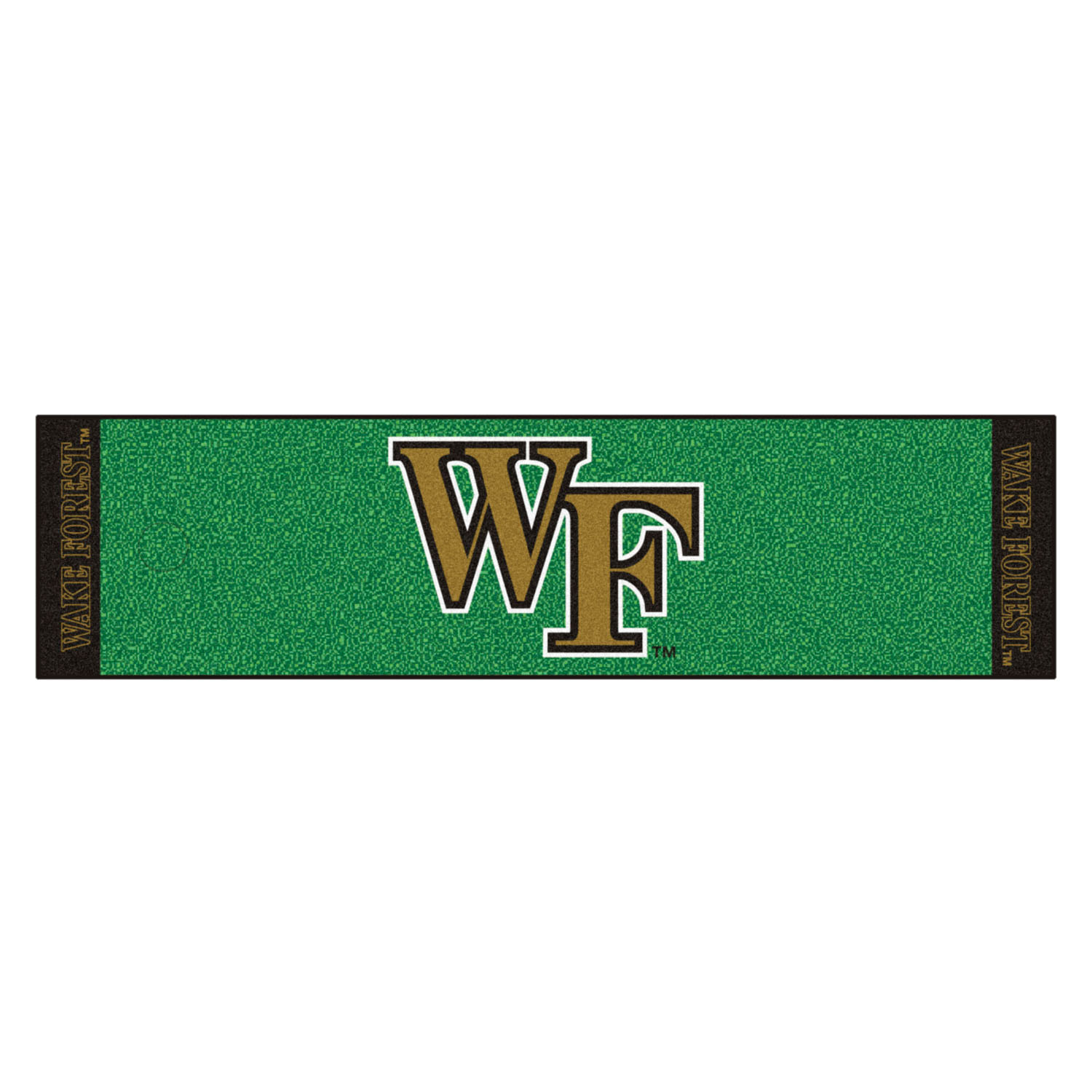 "Fanmats Wake Forest Putting Green Runner 18""x72"""