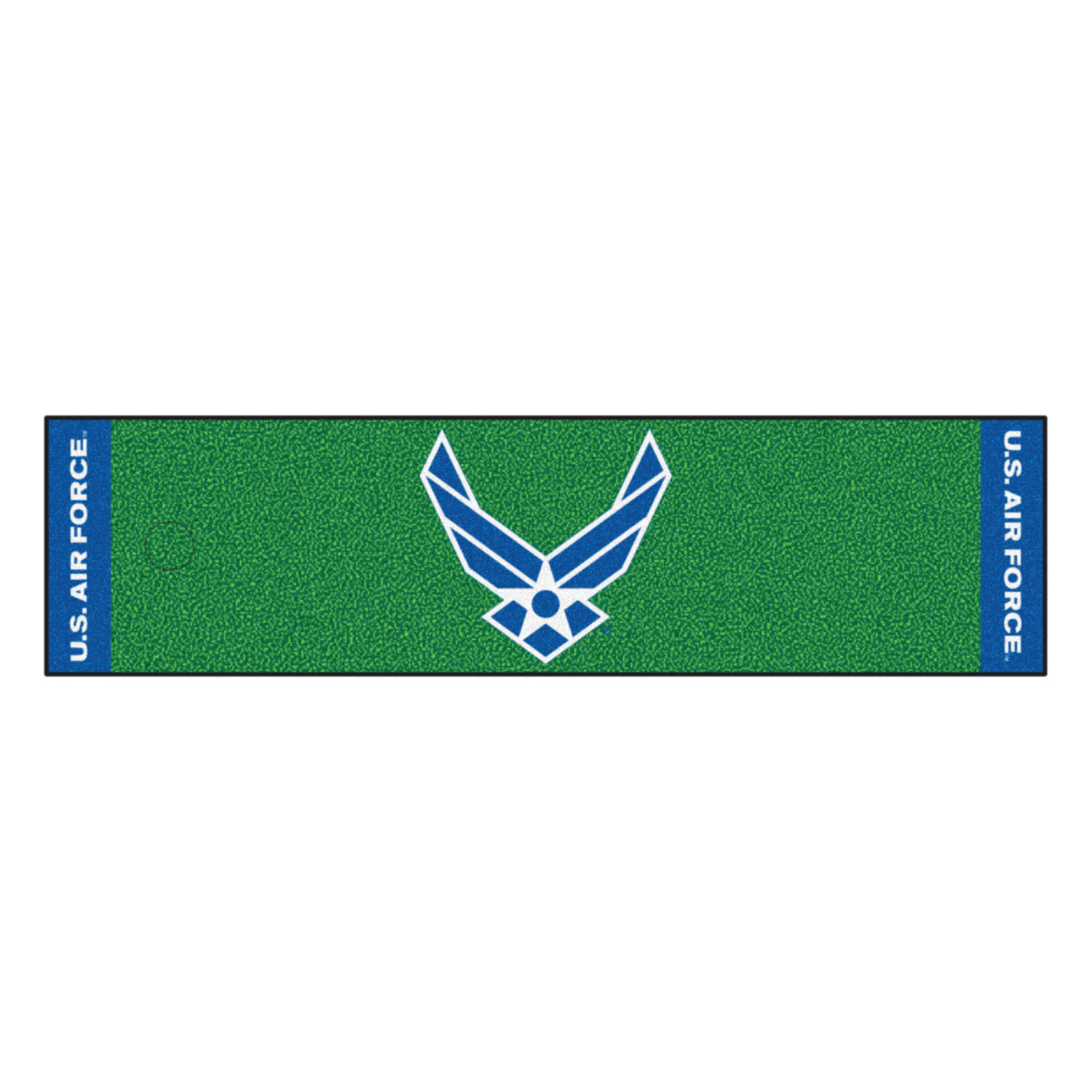 "Fanmats AIR FORCE Putting Green Runner 18""x72"""