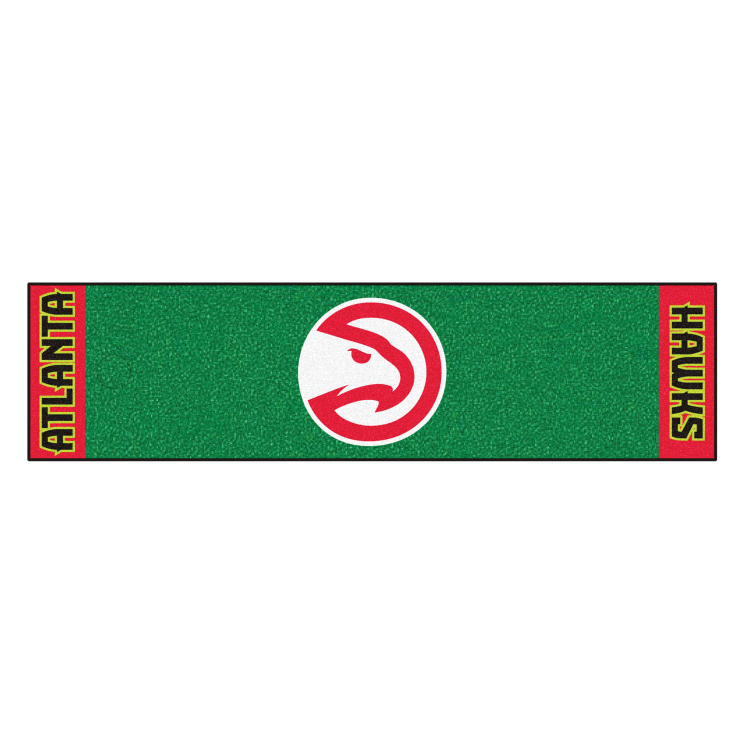 "Fanmats Atlanta Hawks Putting Green Runner 18""x72"""