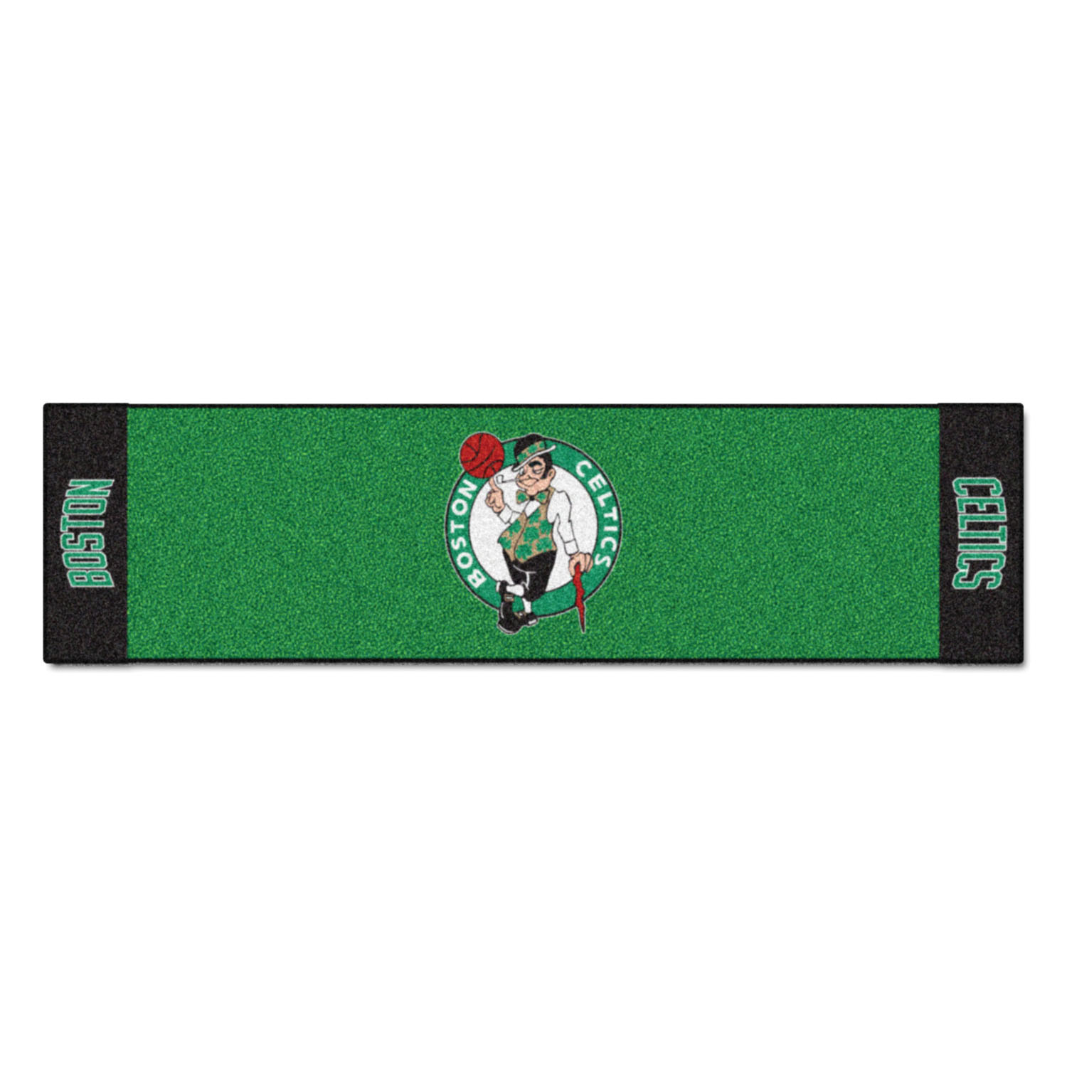"Fanmats Boston Celtics Putting Green Runner 18""x72"""