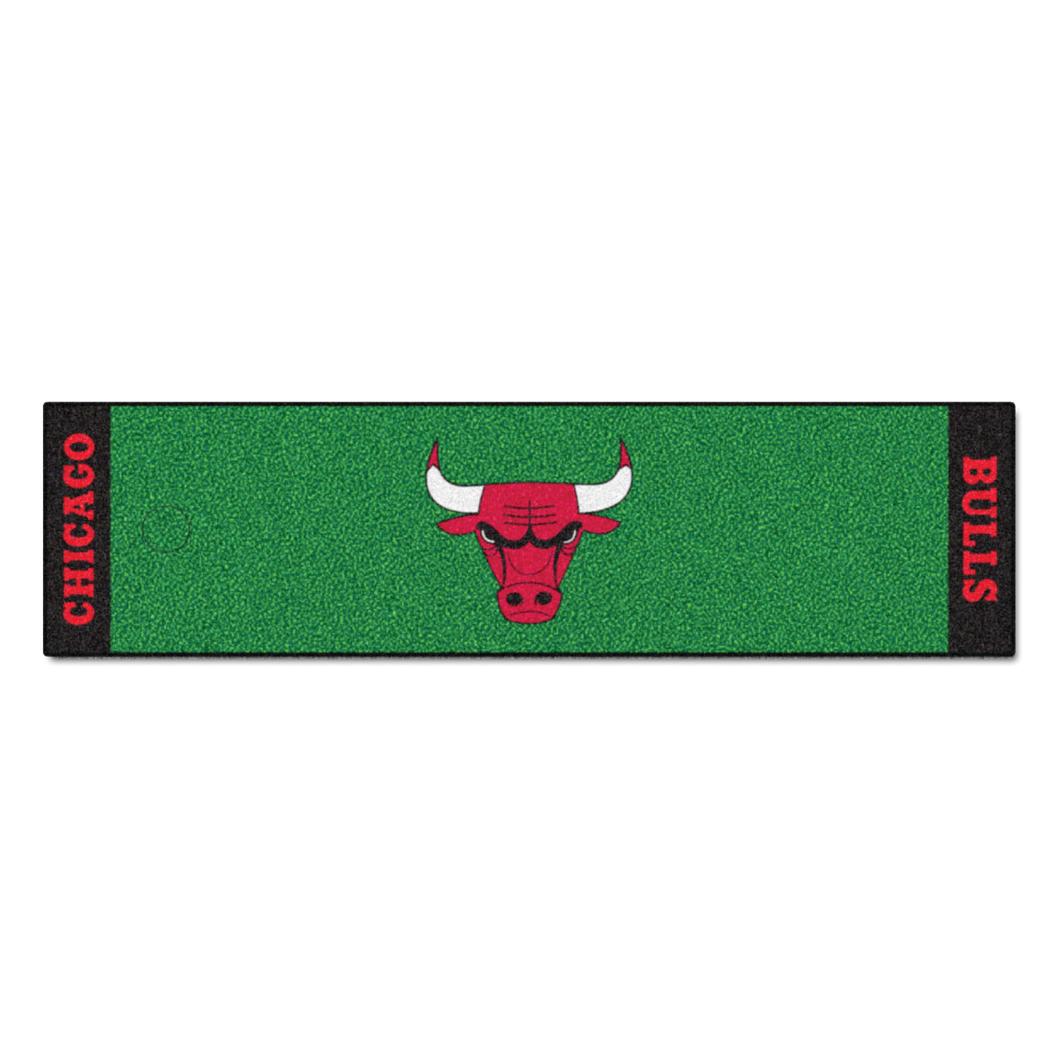 "Fanmats Chicago Bulls Putting Green Runner 18""x72"""