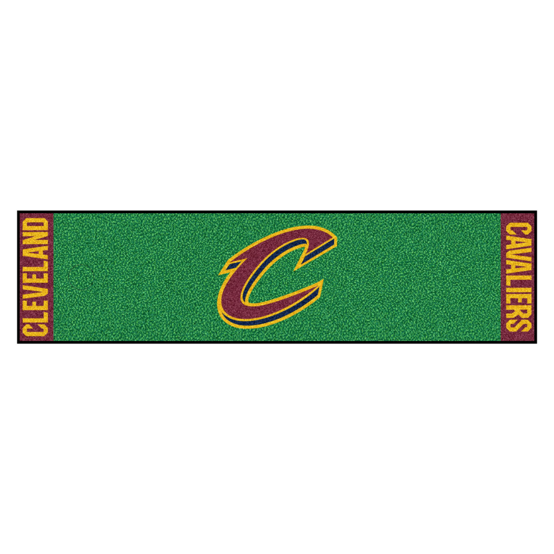 "Fanmats Cleveland Cavaliers Putting Green Runner 18""x72"""
