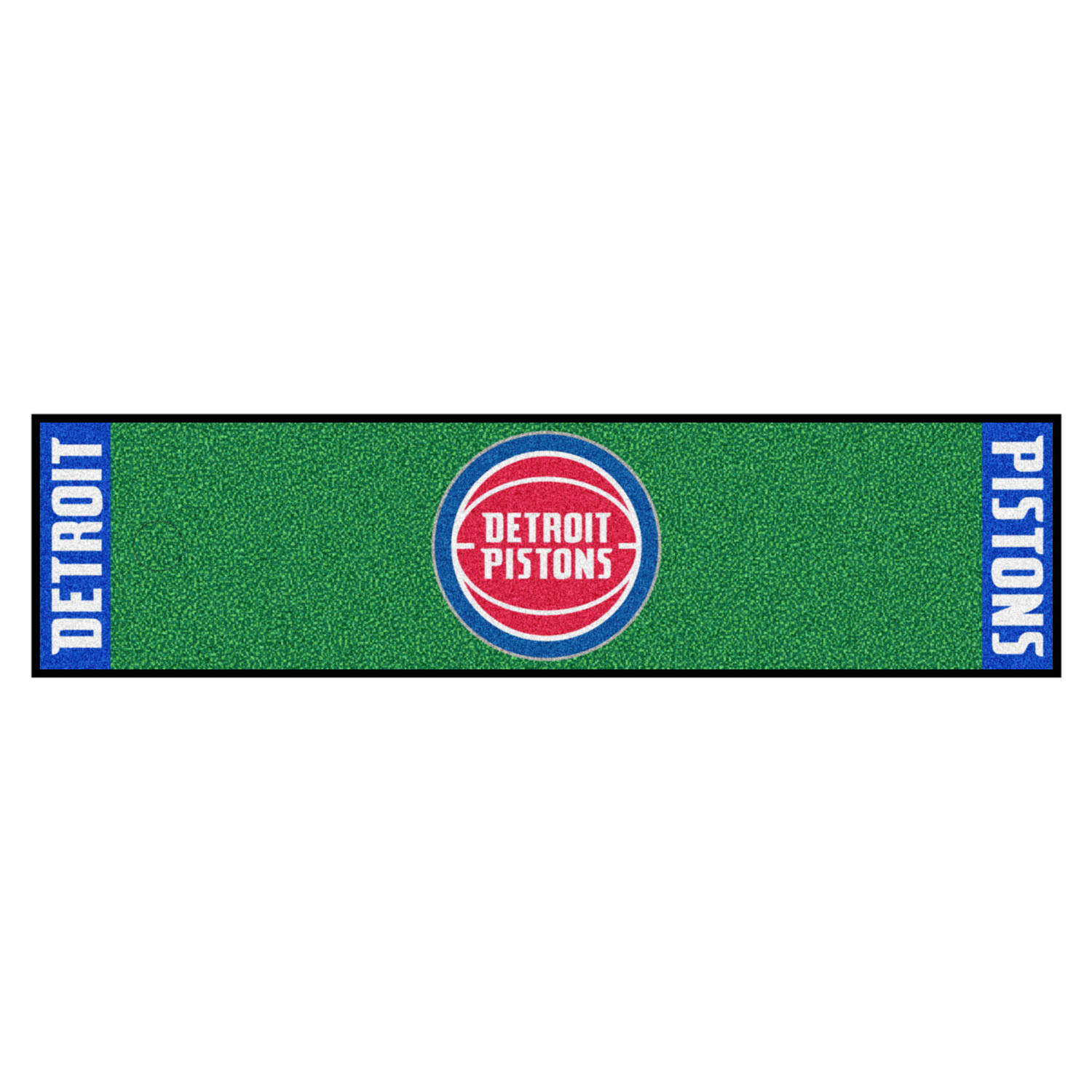 "Fanmats Detroit Pistons Putting Green Runner 18""x72"""