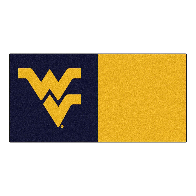 """Fanmats West Virginia Carpet Tiles 18""""x18"""" tiles"""