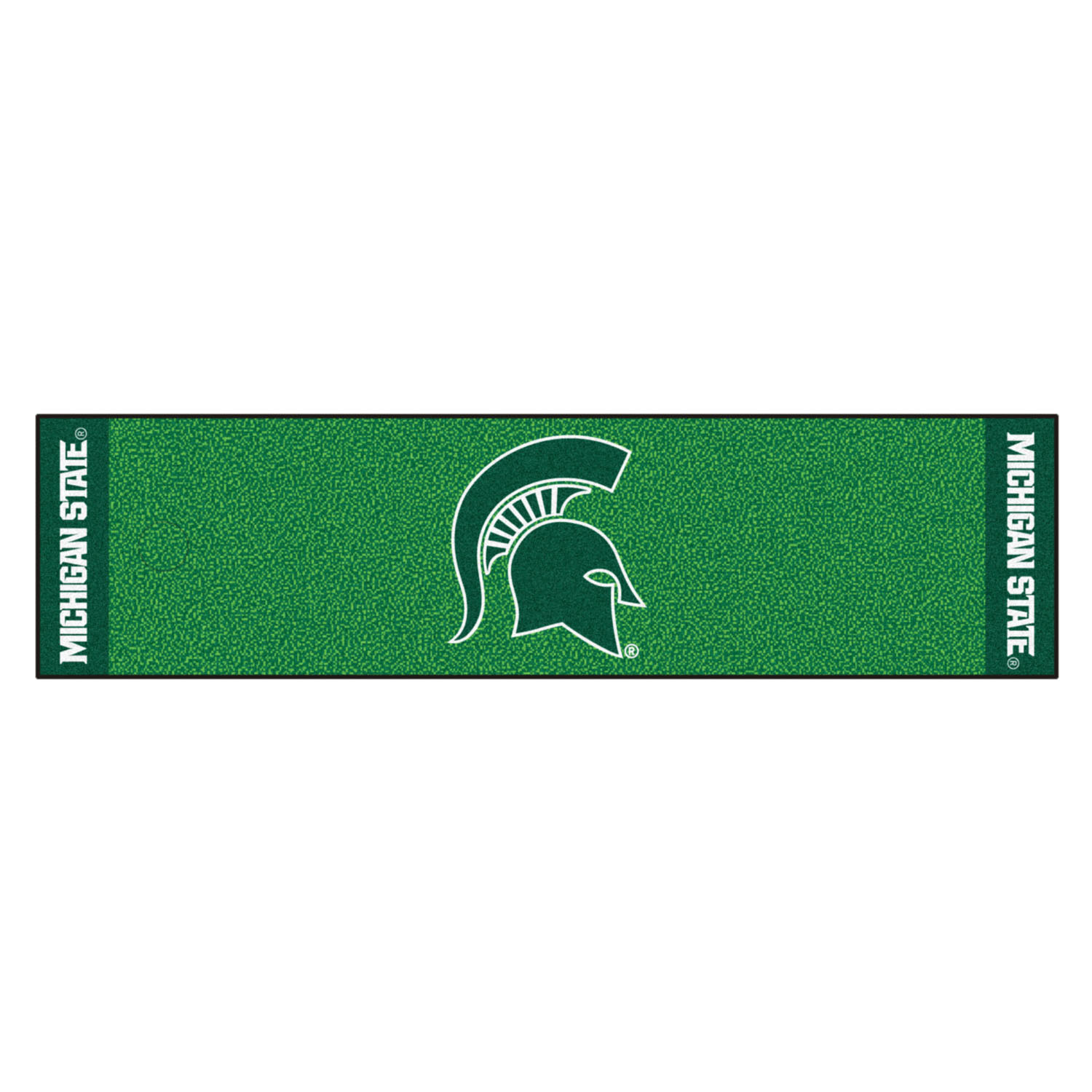 Fanmats Michigan State Putting Green Runner