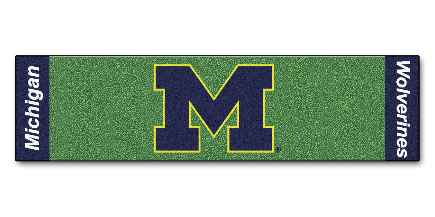 Fanmats Michigan Putting Green Runner