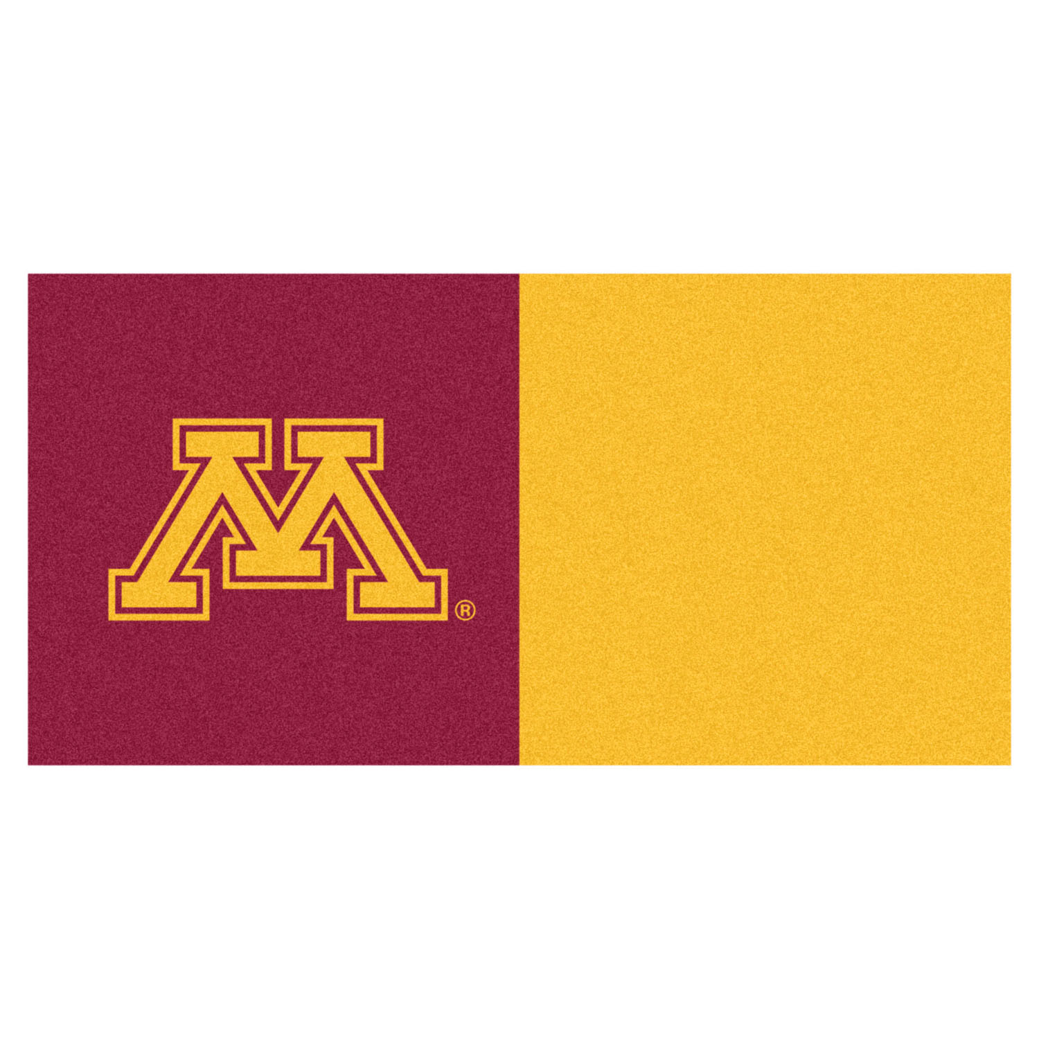 "Fanmats Minnesota Carpet Tiles 18""x18"" tiles"