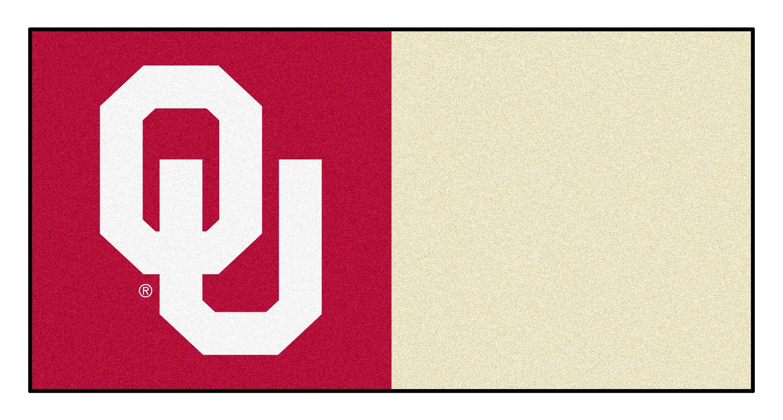 "Fanmats Oklahoma Carpet Tiles 18""x18"" tiles"