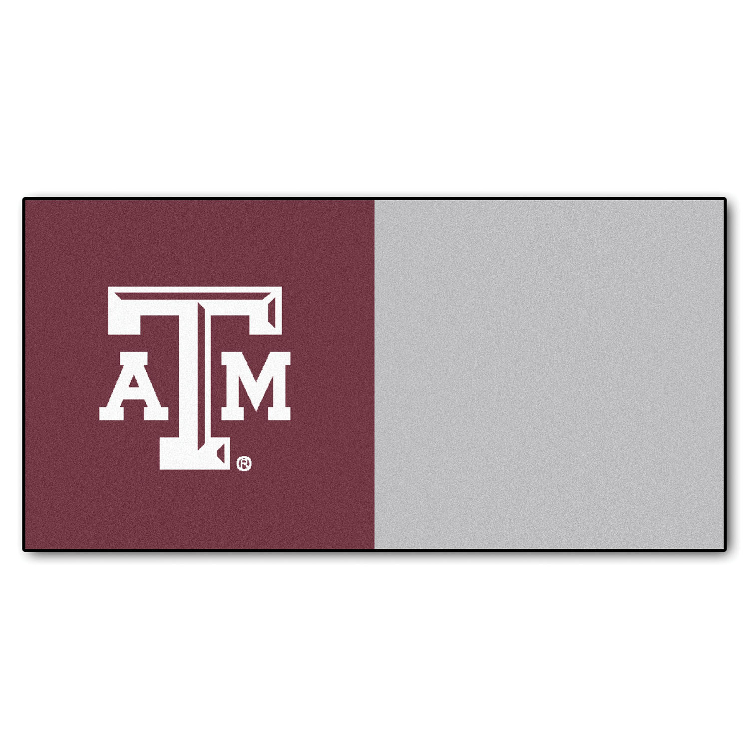 "Fanmats Texas A&M Carpet Tiles 18""x18"" tiles"