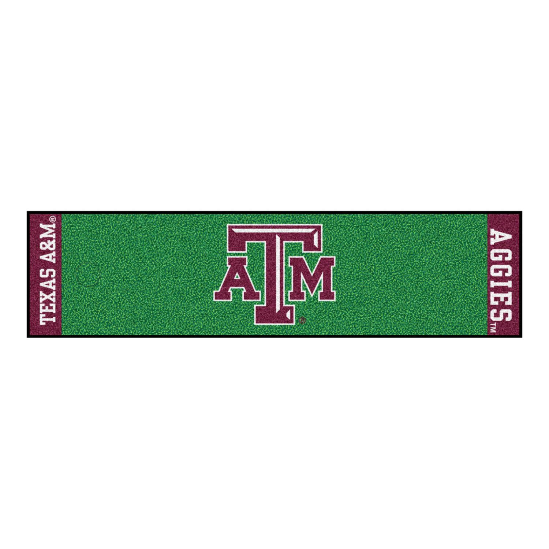 Fanmats Texas A&M Putting Green Runner