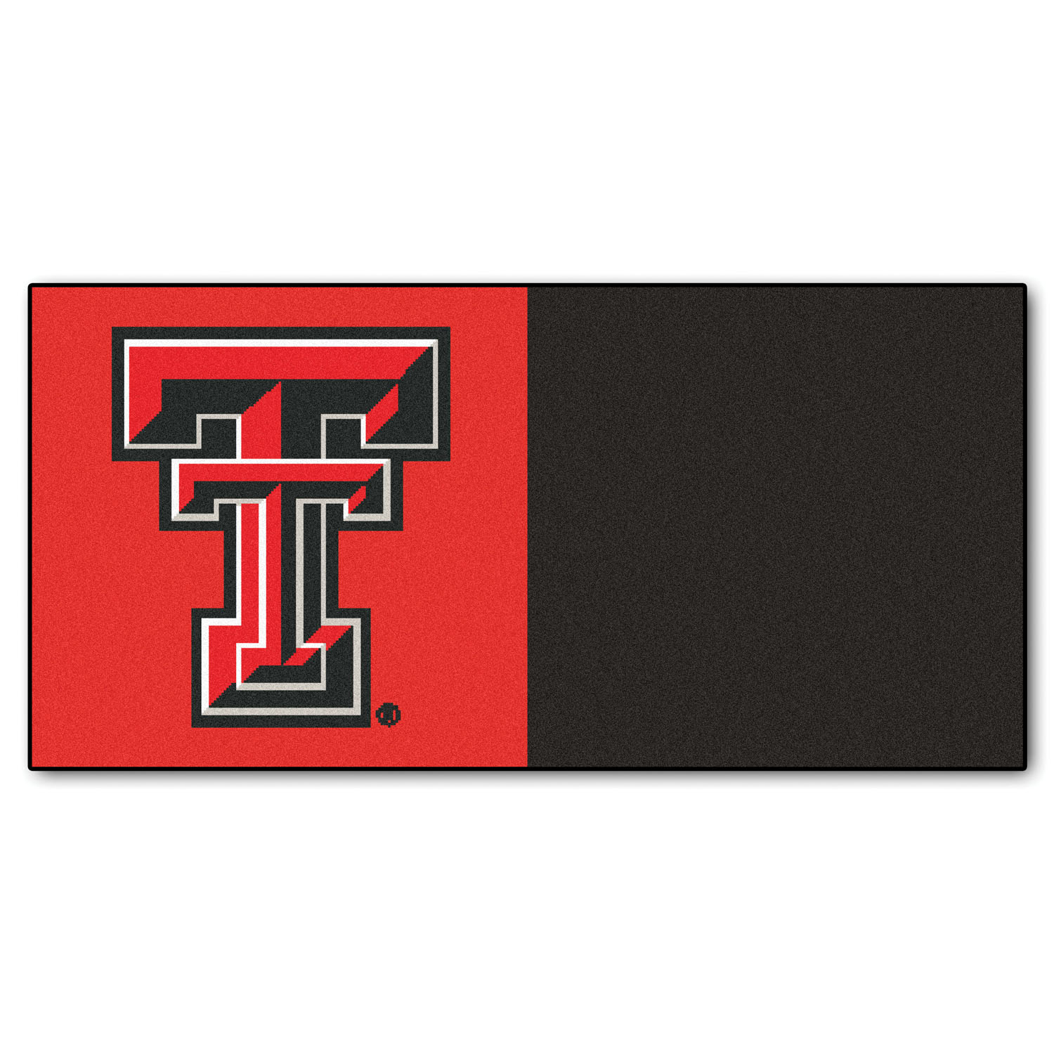"Fanmats Texas Tech Carpet Tiles 18""x18"" tiles"