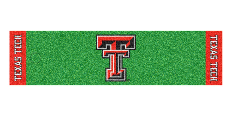 Fanmats Texas Tech Putting Green Runner