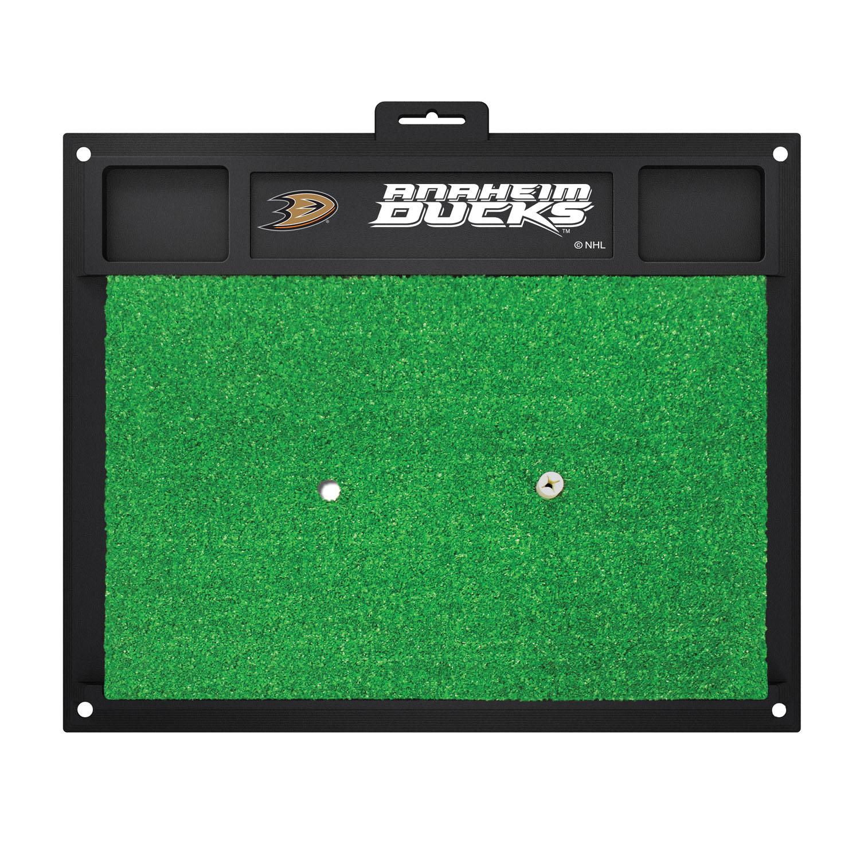 Fanmats Anaheim Ducks Sports Team Logo Rug Backyard Golf Hitting Practice Mat