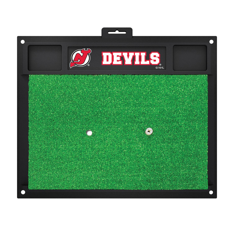 Fanmats New Jersey Devils Sports Team Logo Backyard Golf Hitting Practice Mat