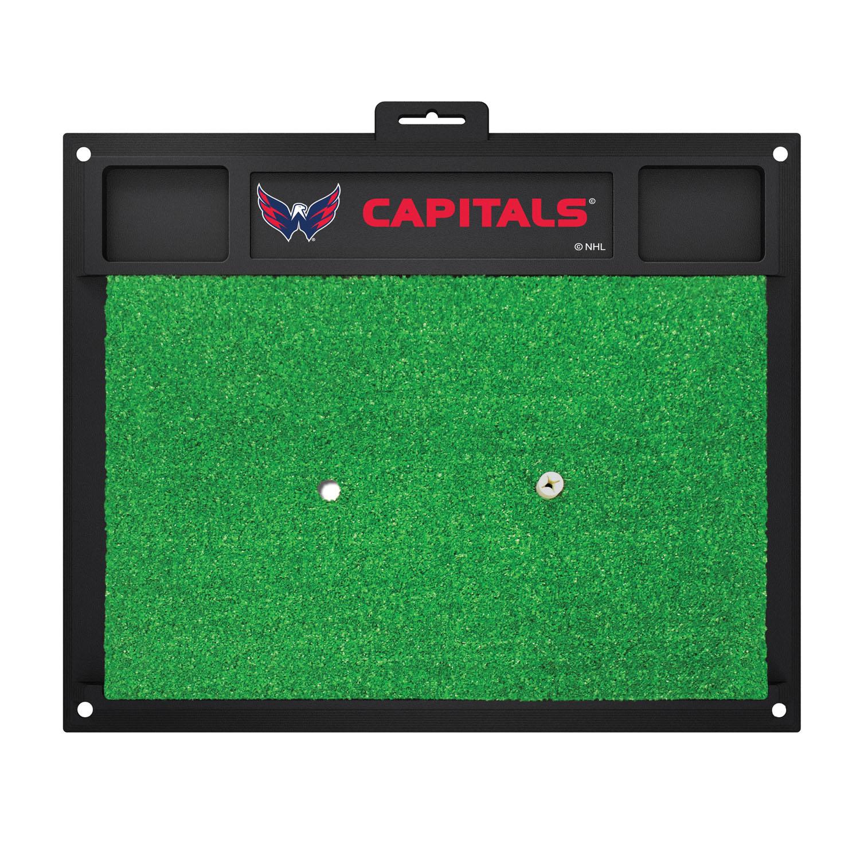 Fanmats Washington Capitals Sports Team Logo Backyard Golf Hitting Practice Mat