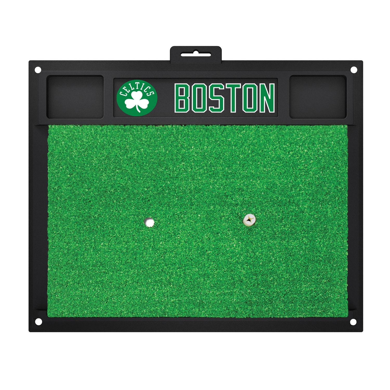 Fanmats Boston Celtics Sports Team Logo Rug Backyard Golf Hitting Practice Mat