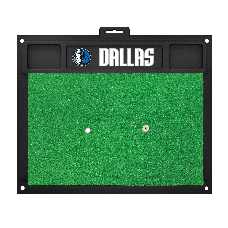 Fanmats Dallas Mavericks Sports Team Logo Backyard Golf Hitting Practice Mat