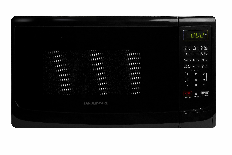 Farberware Classic FMO07ABTBKA 0.7 Cu. Ft 700-Watt Microwave Oven, Black