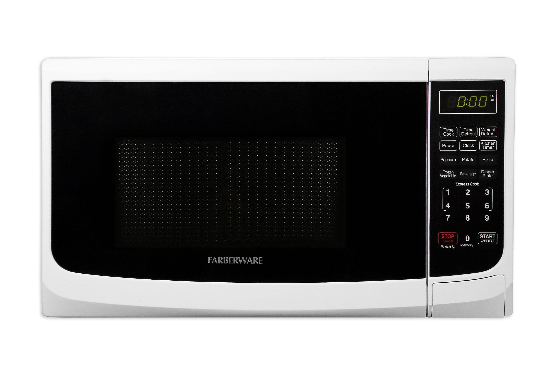 Farberware Classic FMO07ABTWHA 0.7 Cu. Ft 700-Watt Microwave Oven, White
