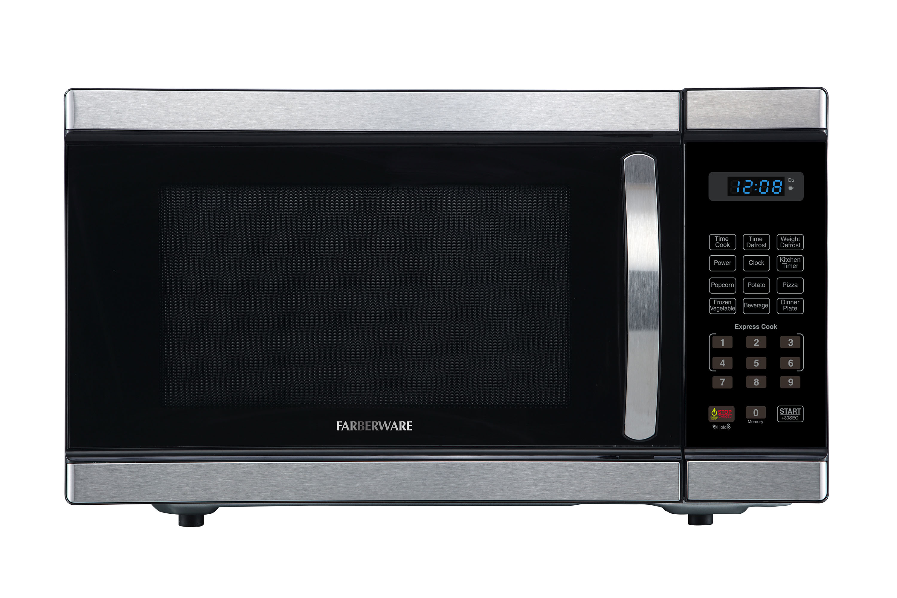 Farberware Professional 1.1 Cu. Ft, Stainless Steel with  BLUE LED